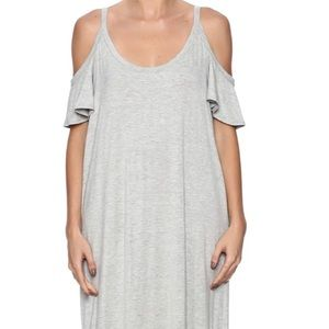 Grey maxi style dress
